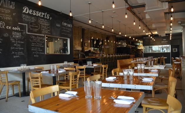 Restaurant plateau mont royal auberge de la fontaine for La salle a manger montreal menu